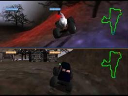 Speel met 1 tot 4 spelers in splitscreen-multiplayer!