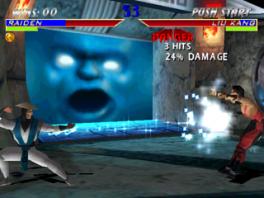 Ik wil jullie gevecht niet verstoren hoor, maar ik zie een demonische smurfenkop op een groot vel...