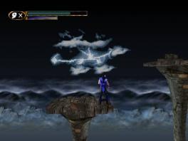 Deze game bestaat niet alleen uit gevechten, maar ook uit platformerdelen.
