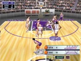 De NBA Jam games zijn minder serieus dan de meeste NBA-games.