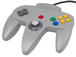 De Nintendo <a href = https://www.mario64.nl/Nintendo-64-spel.php?t=Nintendo_64_Controller target = _blank>64-controller</a> is de meest comfortabele controller voor drie-armige aliens.