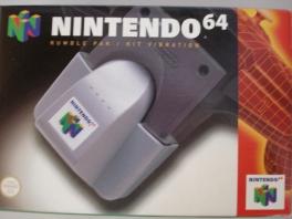 De <a href = https://www.mario64.nl/Nintendo-64-spel.php?t=Nintendo_64_Rumble_Pak target = _blank>rumble pack</a> werd naast dat die samen bij spellen werd verkocht, ook gewoon los verkocht!