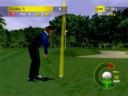 Voor de <a href = https://www.mario64.nl/Nintendo-64-spel.php?t=Nintendo_64 target = _blank>N64</a> is dit een behoorlijk realistische golfgame.
