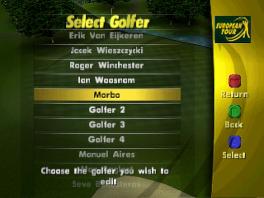 """Ik twijfel nog tussen """"Ian Woosnam"""" en """"Golfer 4""""..."""