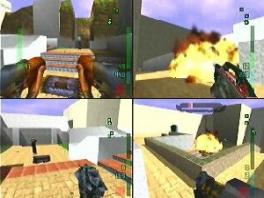 Er is ook een multiplayerstand: speel tegen je vrienden in de spannende Deathmatch.