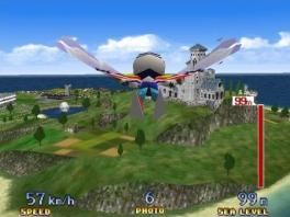 Leuk feitje: dit is de enige Pilotwings-game zonder vliegtuigen...