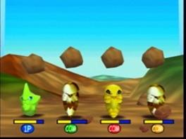 Naast vechten kun je ook minigames spelen!