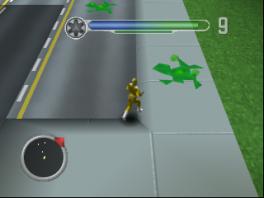 Vecht tegen verschillende vijanden, zoals... een groen poeltje slijm?