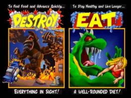 Speel als gigantische, verwoestende, paniekzaaiende monsters!