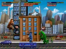Godzilla, King Kong of Wolfman konden we nog wel aan, maar alle drie tegelijk...
