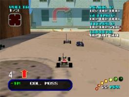 Had je maar van die rode schilden van <a href = https://www.mario64.nl/Nintendo-64-spel.php?t=Mario_Kart_64 target = _blank>Mario Kart 64</a>. Helaas moet je nu wel vaardigheden hebben.