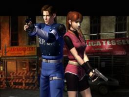 Speel als Leon Kennedy en Claire Redfield, twee van de weinige overlevenden!