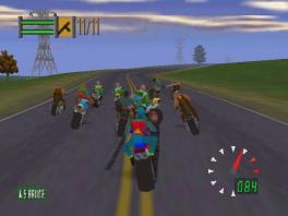 Speel als een bijzonder gewelddadige motorrijder!