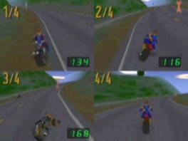 Race/vecht met maximaal vier spelers tegen elkaar!