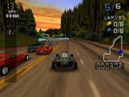 Race met verschillende snelle wagens door San Fransisco!