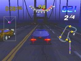 Ken je de Golden Gate Bridge in San Francisco? Daar kun je dus over racen in deze game!