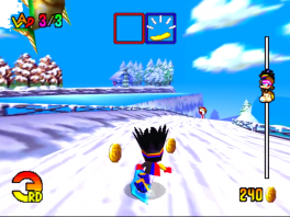 Snowboard Kids 2: Screenshot