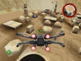 Speel als een Rogue Squadron van de rebellen.