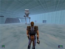 Deze game speelt als een third person shooter.