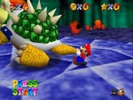 <a href = https://www.mario64.nl/Nintendo-64-spel.php?t=Super_Mario_64>Super Mario 64</a> is een driedimensionaal avontuur met talloze levels!