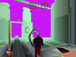 Het grootste deel van deze game bestaat uit door ringen vliegen.