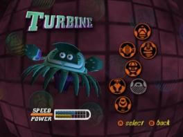 Deze game heeft verschillende speelbare robots, maar veel zul je niet van ze zien.