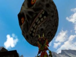 Voorkom dat Skull Kid de maan op de aarde laat neervallen!