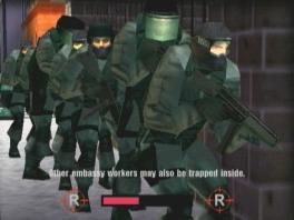 """Speel als de anti-terroristische groep genaamd """"Rainbow""""."""