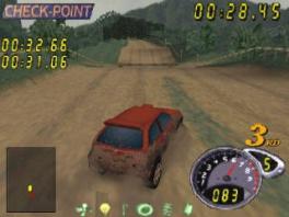 De visuele effecten in deze game, zoals modder, zijn erg realistisch voor een 64-game.