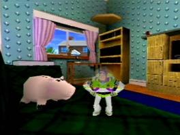 Probeer Woody te redden als Buzz Lightyear de SpaceRanger en speel in 15 3D-werelden.