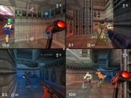 <a href = https://www.mario64.nl/Nintendo-64-spel.php?t=Turok_Rage_Wars>Turok Rage Wars</a> heeft 36 multiplayer levels, 16 dodelijke wapens en 8 spelmodes.