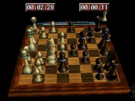 Deze game is redelijk simpel: het is gewoon schaken, maar dan met een controller...