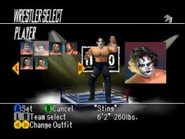 Speel als worstelaars uit twee grote worstelleagues, de WCW en de NWO.