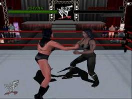 Speel ook met vrouwelijke worstelaars