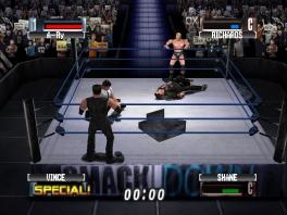 Op elk moment kunnen er andere worstelaars in de ring stappen!