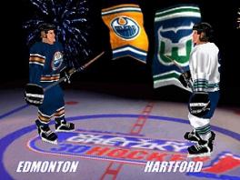 In het spel kun je spelen als één van de 26 NHL-teams.