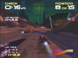 Speel op verchillende planeten, net als in F-Zero.