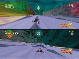 Speel met 2 tot 4 spelers tegen elkaar , net als in... alle andere racegames voor de <a href = https://www.mario64.nl/Nintendo-64-spel.php?t=Nintendo_64 target = _blank>N64</a>.