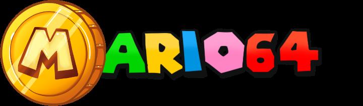 Logo Mario N64