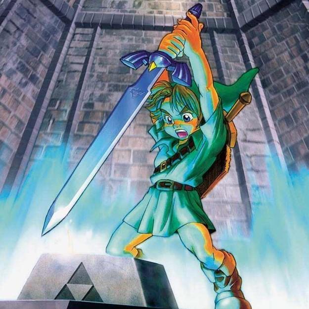 Zelda avontuur games op de nintendo64
