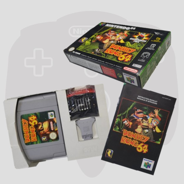Complete in Box Donkey Kong 64
