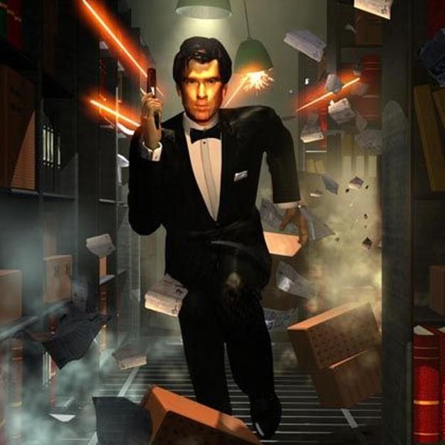 007 james bond golden op de N64