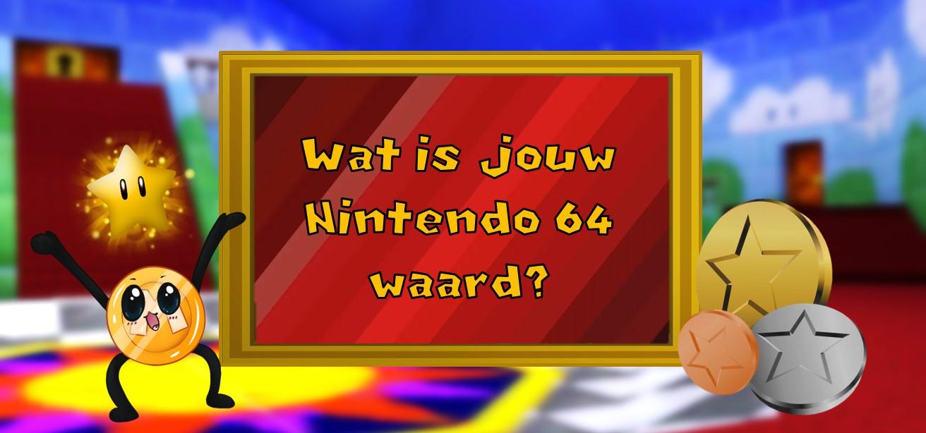 Wat is jouw n64 waard?